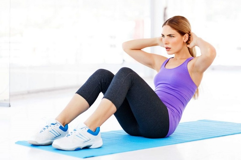 Gập bụng đúng cách giảm mỡ bụng thần kỳ cho nam và nữ
