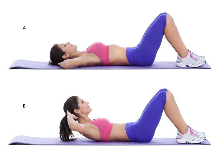Phương pháp gập bụng cơ bản