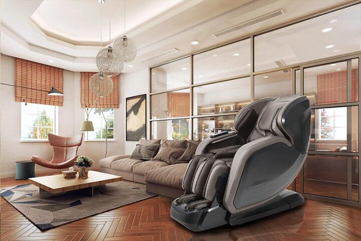 Ghế massage 5D là ứng dụng công nghệ con lăn massage tiên tiến nhất hiện nay.