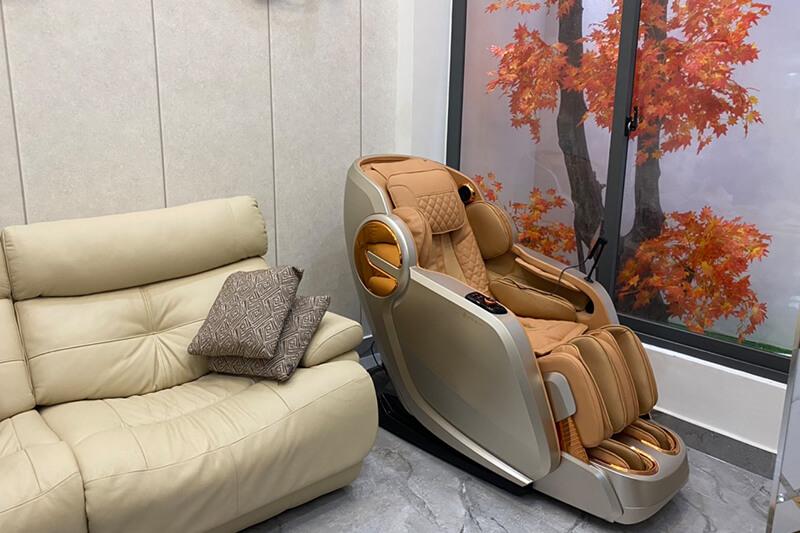 Ghế massage - Chăm sóc sức khỏe gia đình bạn mùa dịch Covid 19