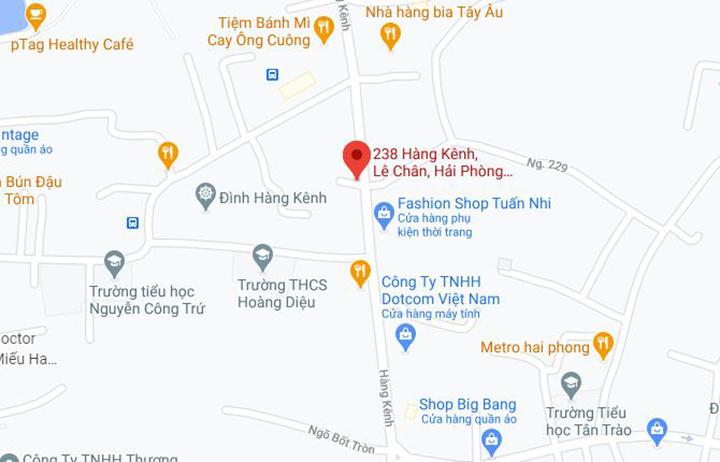 Địa chỉ cửa hàng ghế massage Oreni Hải Phòng