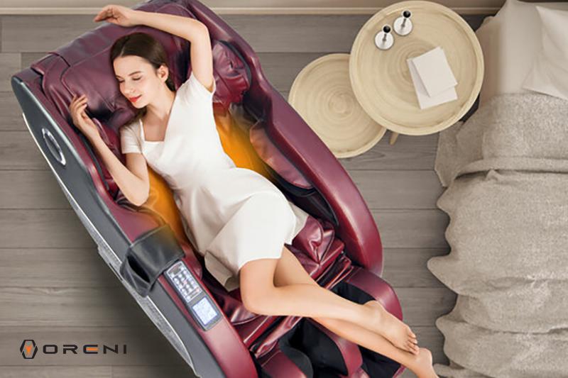 Ghế massage hồng ngoại là gì? Massage nhiệt có tốt không?