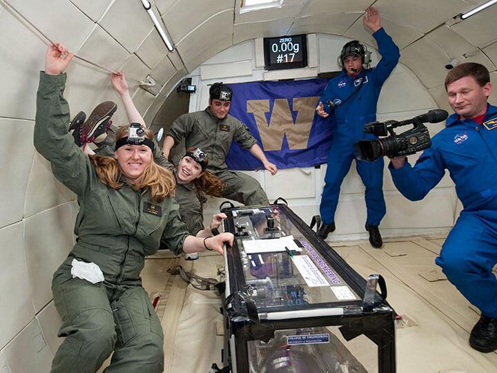 Chế độ Zero Gravity khởi phát từ hoạt động thăm dò vũ trụ của NASA.