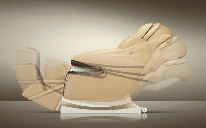 Tính năng không trọng lực là 1 điểm đánh giá chất lượng của dòng ghế massage cao cấp.