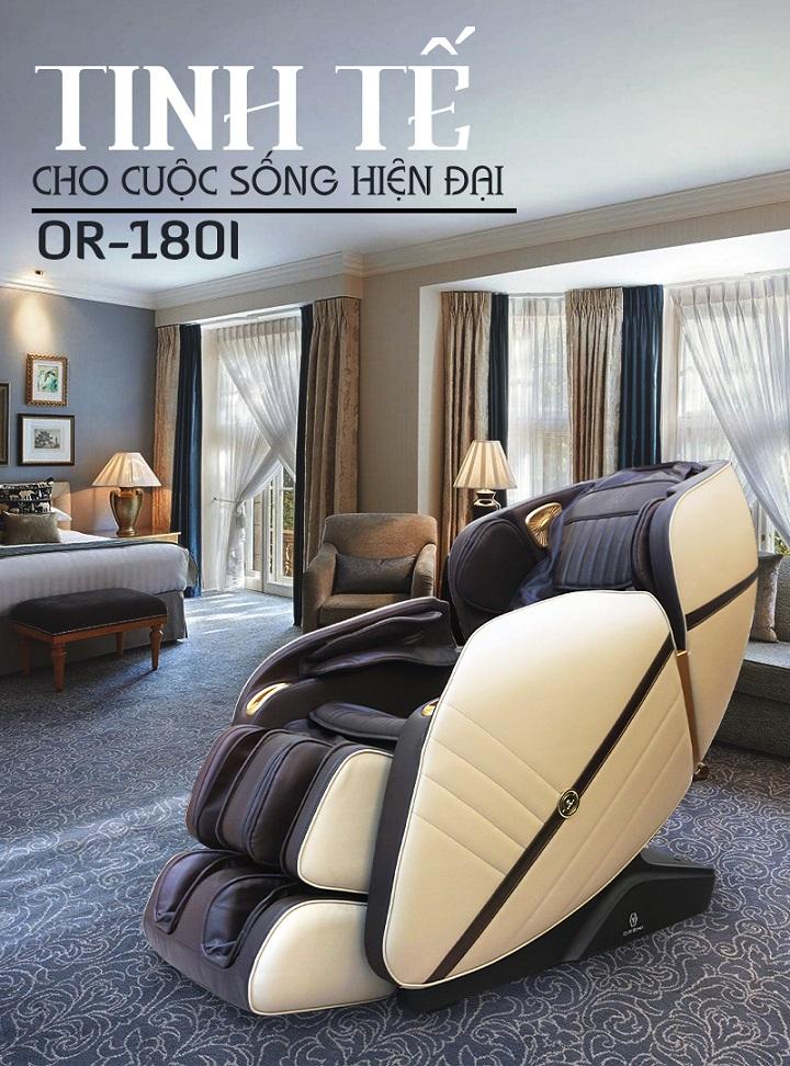 Ghế massage OR-180i công nghệ cải tiến vượt trội