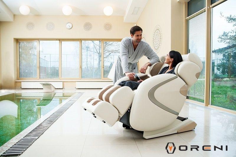 Ghế massage Oreni - Sản phẩm được người Việt yêu thích