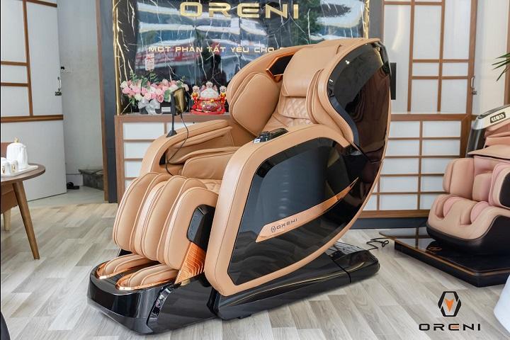 Ghế massage Oreni công nghệ Nhật Bản hiện đại