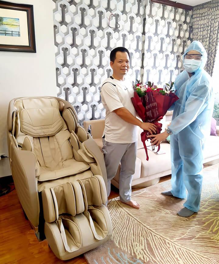 Ghế massage Oreni OR-180 là người bạn đồng hành cùng sức khỏe cho mọi nhà