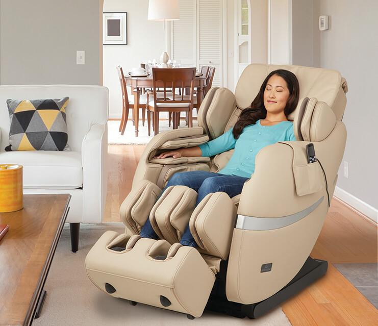 Ngồi ghế massage với tần suất hợp lý giúp cơ thể được thư giãn, giảm cơn đau nhức