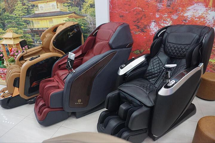 Oreni là thương hiệu bán ghế massage cao cấp được ưa chuộng nhất trên thị trường hiện nay