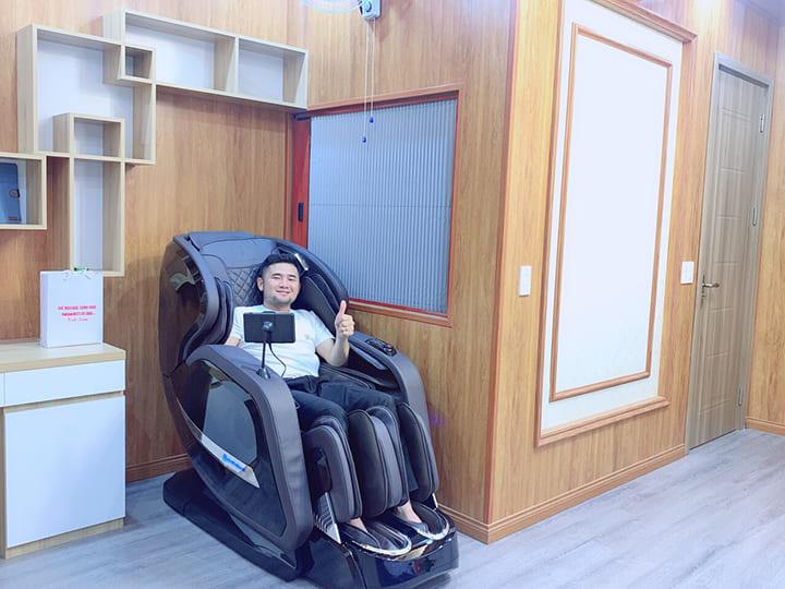 Sử dụng ghế massage 30 phút mỗi ngày giúp nâng cao sức khỏe toàn diện