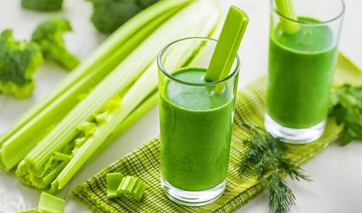 Nước dưa leo cần tây là đồ uống dễ uống và giúp bạn giảm cân