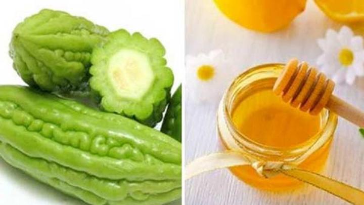 Mướp đắng kết hợp cùng mật ong giúp giảm cân