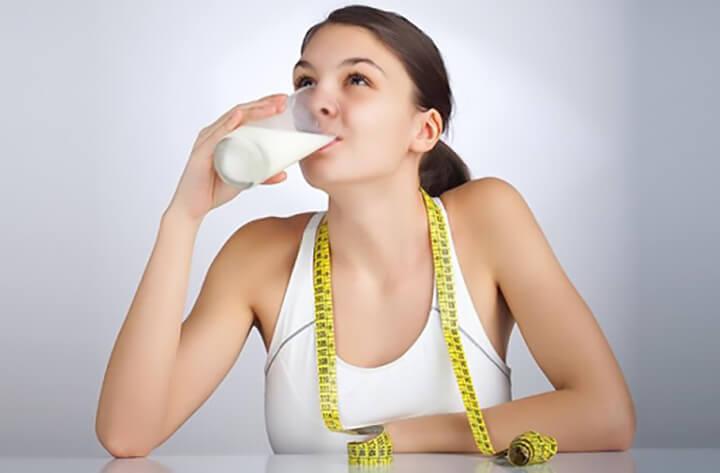 Lưu ý giảm cân bằng sữa tươi không đường đúng cách