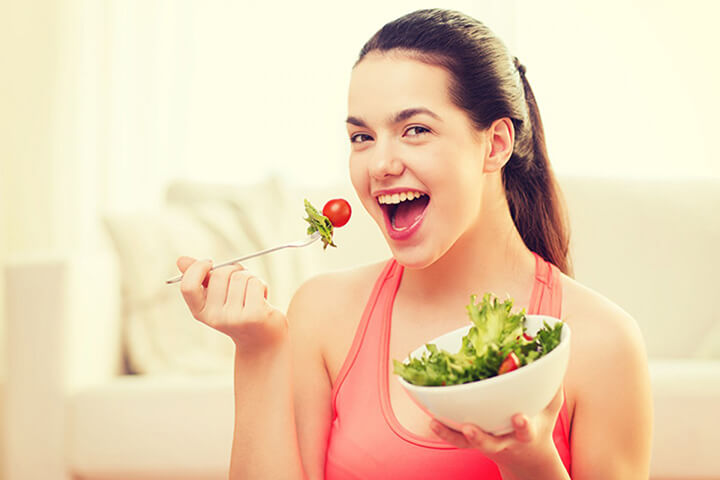 Người béo nên ăn nhiều rau củ quả để hỗ trợ giảm cân tốt nhất
