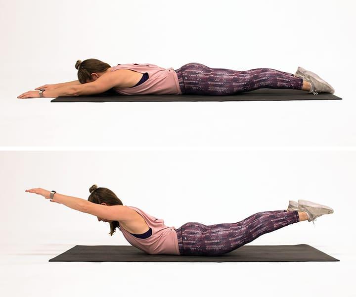 Bài tập yoga này làm cho vùng lưng giảm mỡ thừa nhanh chóng