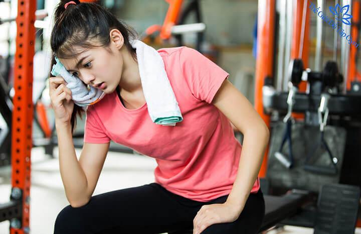 Bạn nên nghỉ ngơi hợp lý sau khi tập Gym để cơ bắp được phục hồi.