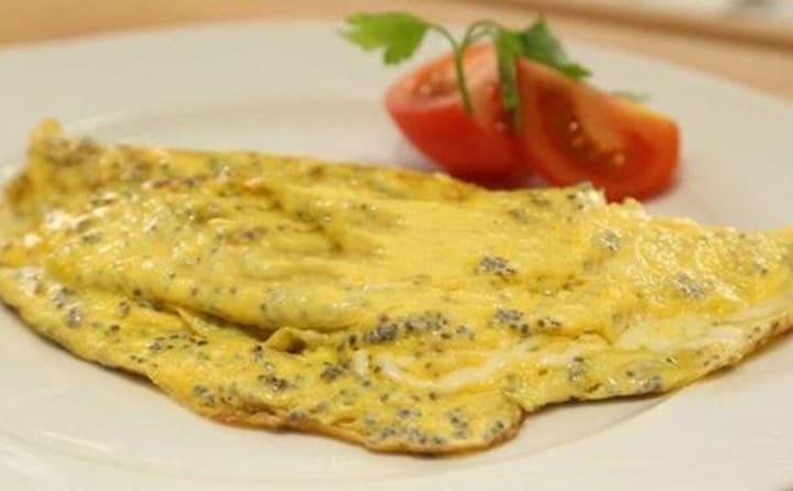 Trứng chiên hạt chia là món ăn hoàn hảo trong thực đơn ăn kiêng giảm cân