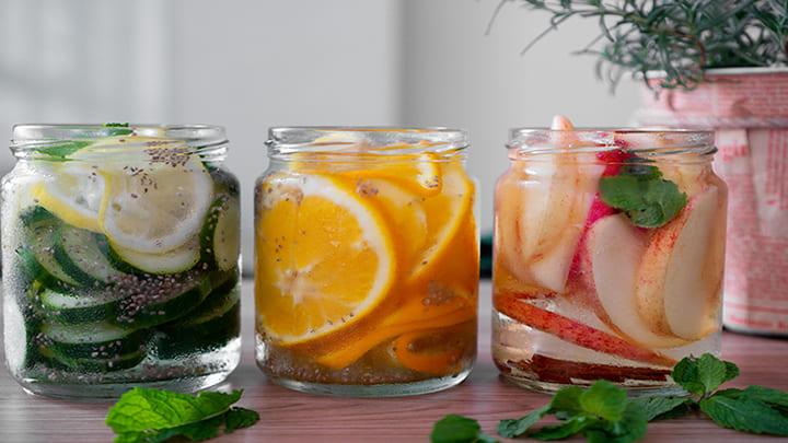 Nước detox hạt chia giúp đào thải độc tố và mỡ thừa nhanh chóng
