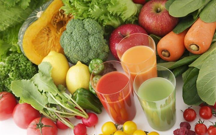 Bạn nên ăn nhiều rau xanh và trái cây hơn
