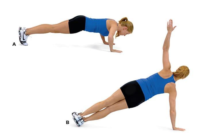 Tập T Push-Up giúp bạn rèn luyện cả phần tay, nâng cao tập thăng bằng cho cơ thể