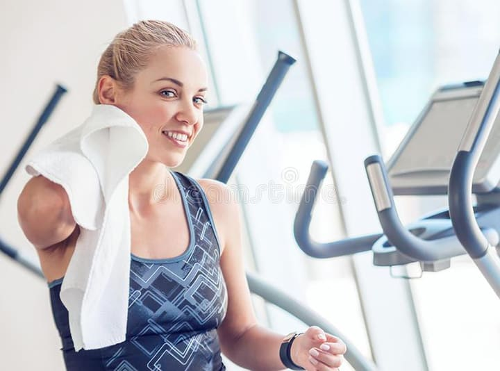 Giữ tinh thần thoải mái khi tập luyện là điều quan trọng