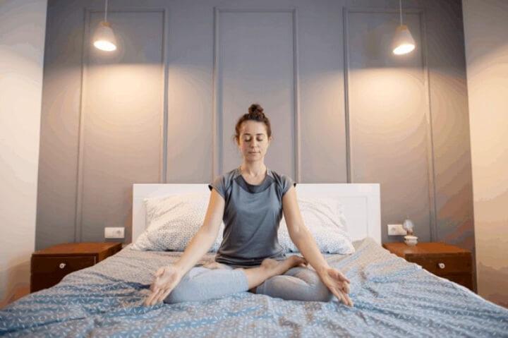 Hít thở bằng bụng giúp cơ hoành hoạt động nhiều hơn