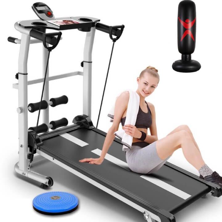Máy chạy bộ cơ thích hợp cho người có thể lực tốt.
