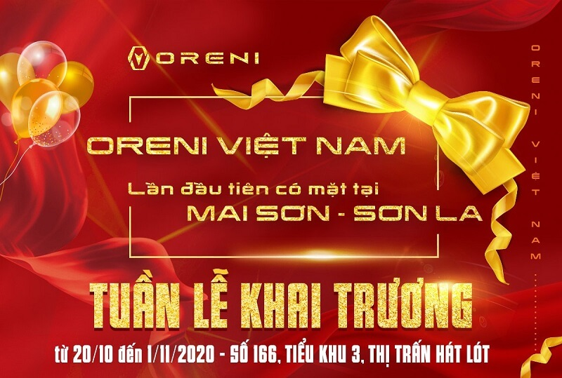 Tưng bừng khai trương, ngập tràn ưu đãi tại Oreni Mai Sơn, Sơn La