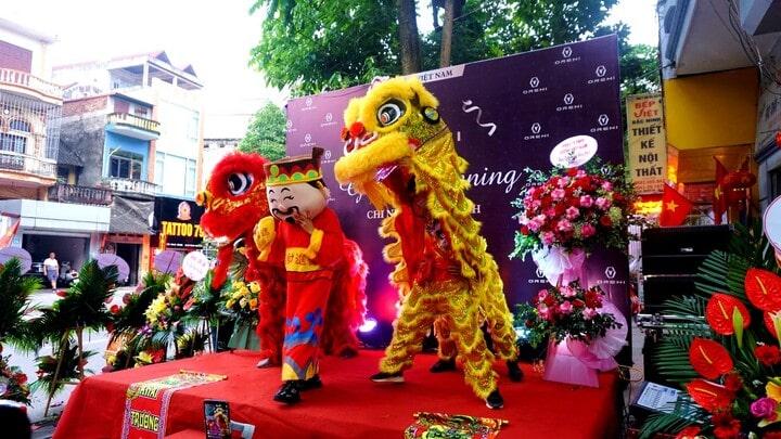 Một số hình ảnh buổi lễ khai trương chi nhánh Oreni Bắc Ninh