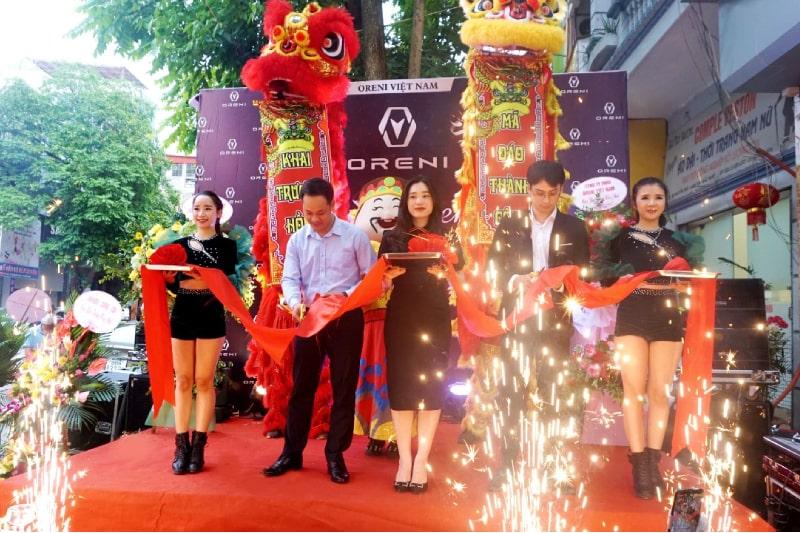 Khai trương cửa hàng ghế massage chính hãng Oreni Bắc Ninh