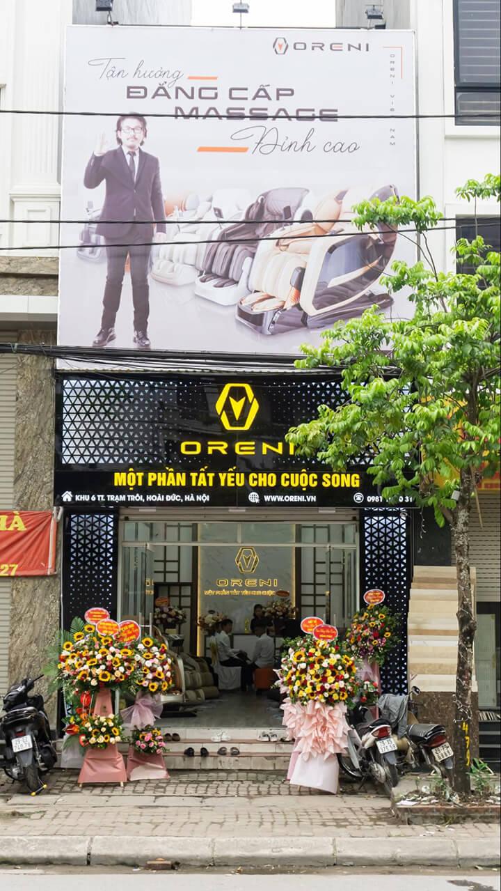 Một số hình ảnh buổi lễ khai trương chi nhánh Oreni Hoài Đức