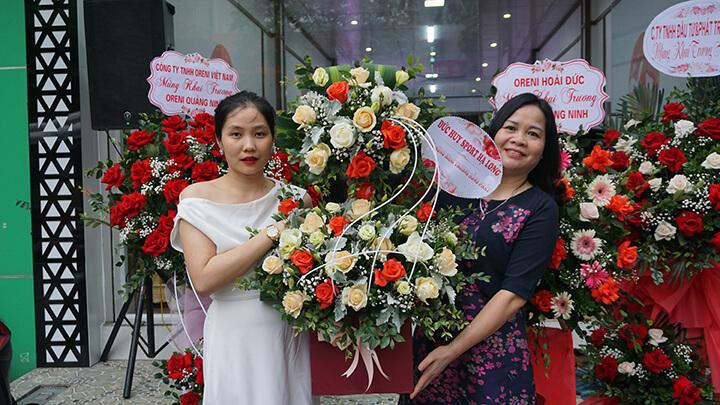 Hình ảnh lễ khai trương Oreni Quảng Ninh
