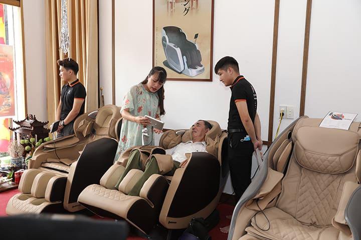 Hình ảnh tại buổi lễ khai trương chi nhánh Oreni Thái Nguyên
