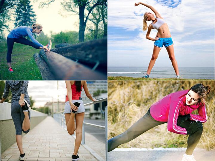 Khởi động kỹ càng trước khi chạy bộ càng mang hiệu quả giảm cân tốt hơn.