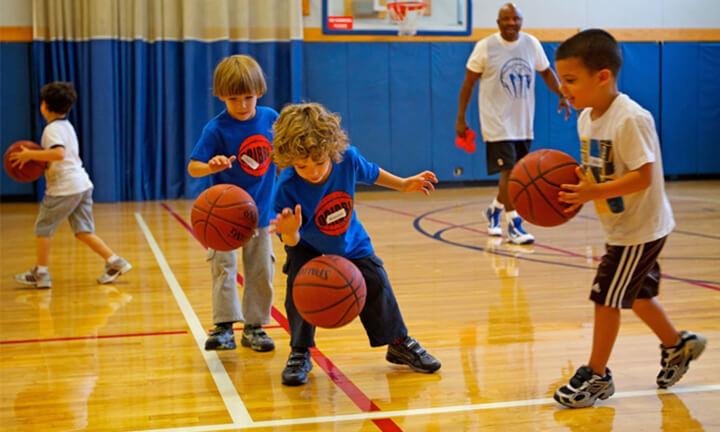 Sân bóng rổ dành cho trẻ em