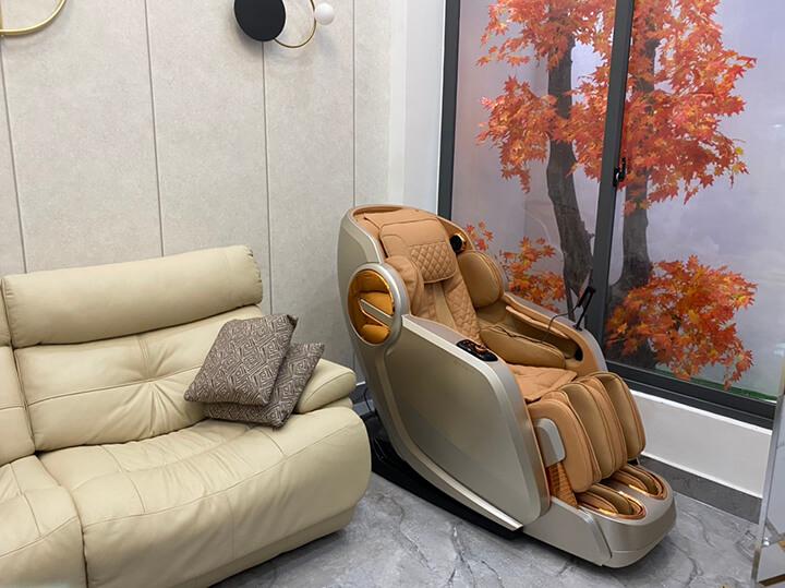 Ghế massage toàn thân là sản phẩm mang đến rất nhiều lợi ích cho người dùng