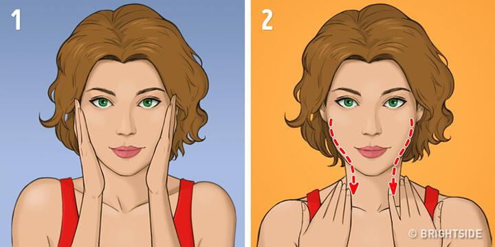 Bước 1 - Kỹ thuật massage Asahi