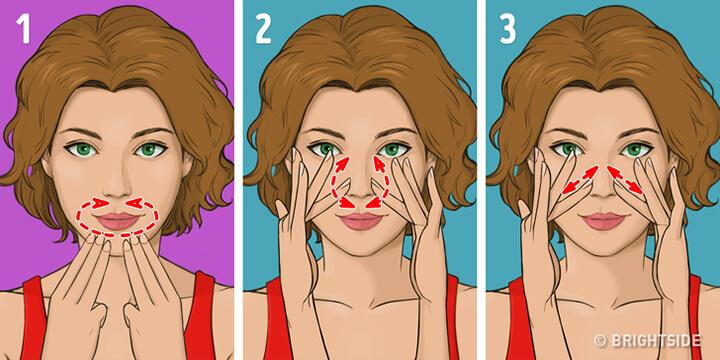 Bước 4 - Kỹ thuật massage Asahi
