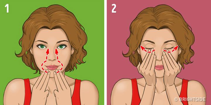Bước 5 - Kỹ thuật massage Asahi