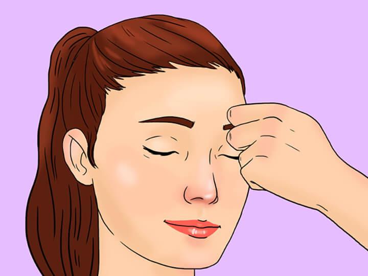 Giảm nhăn mắt - Massage Korugi