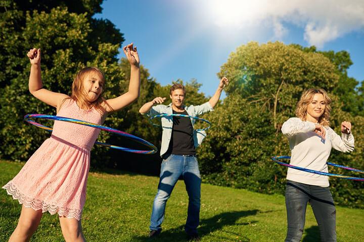 Lắc vòng là bài tập thể dục đơn giản được nhiều chị em yêu thích tập luyện