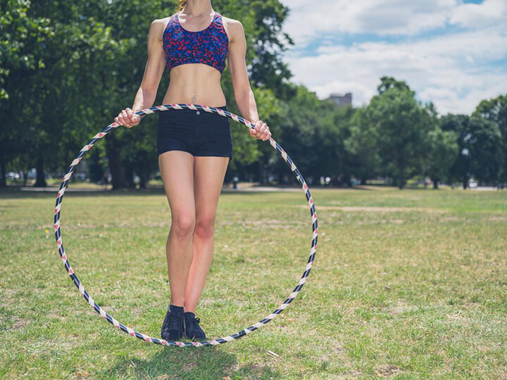 Lắc vòng hỗ trợ giảm cân hiệu quả