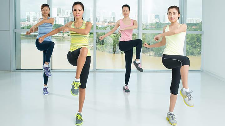 Tập Aerobic 30 phút mỗi ngày sẽ giúp cải thiện tâm trạng hiệu quả