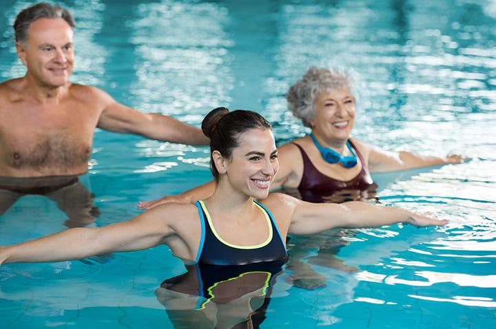 Bơi tốt cho người khuyết tật phục hồi chức năng