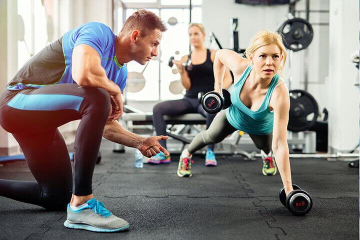 Lưu ý đảm bảo cường độ tập luyện phù hợp khi tập Gym