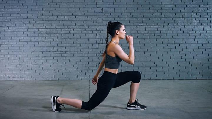 Lunge giúp giảm các vấn đề về hông của bạn