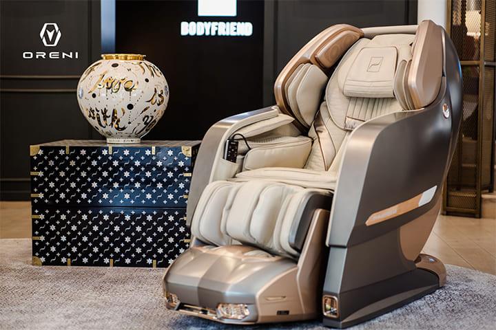 Sử dụng ghế massage mang lại rất nhiều lợi ích cho sức khỏe