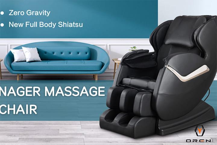 Ghế massage được tích hợp nhiều công nghệ hiện đại