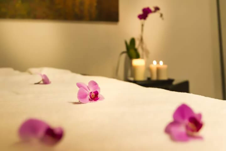 Không gian massage nên là không gian riêng tư, lãng mạn